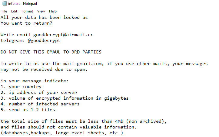 remove Banhu ransomware