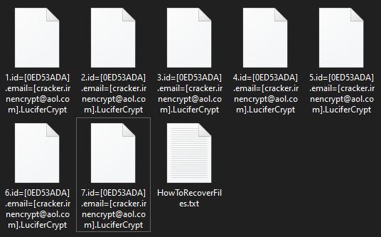 remove LuciferCrypt ransomware
