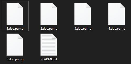 remove Pump ransomware