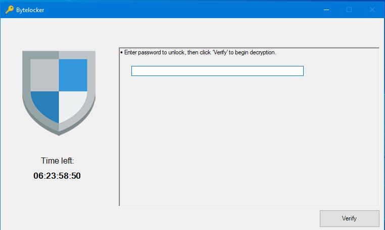 remove ByteLocker ransomware