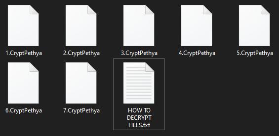 CryptPethya virus