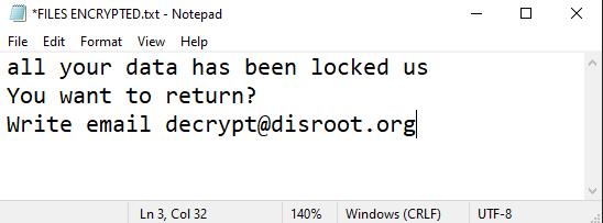 Dis ransomware