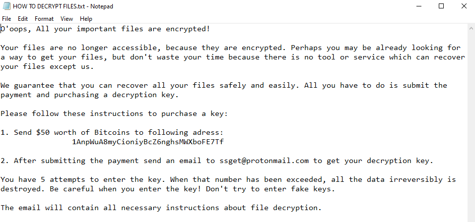 remover EnCryp13d ransomware