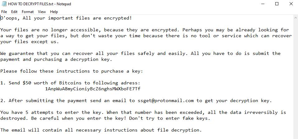 删除EnCryp13d勒索软件