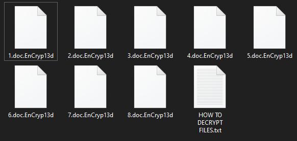EnCryp13d virus