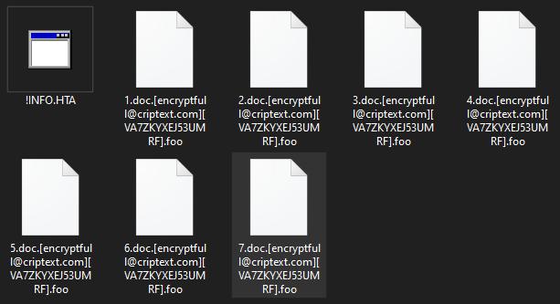 Foo ransomware