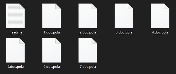 remove Pola virus