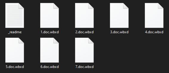 remove Wbxd virus
