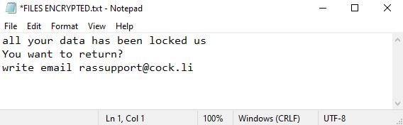 Bk ransomware