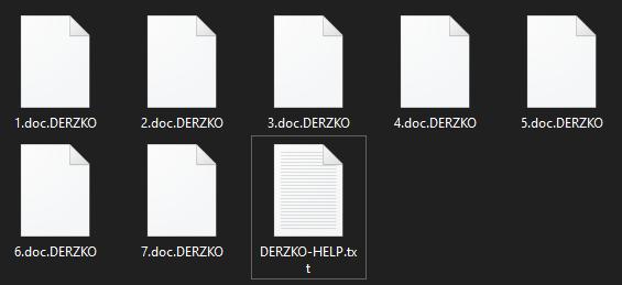 remove DERZKO virus
