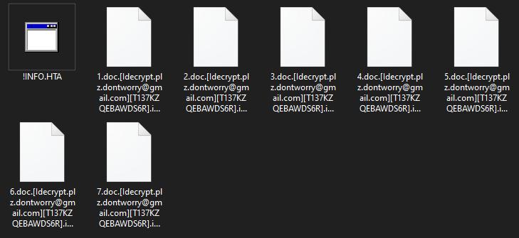 Idecrypt ransomware