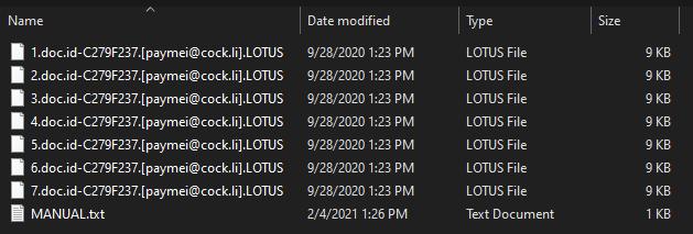 LOTUS virus