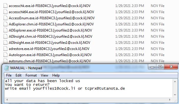 Nov ransomware