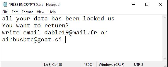 OVO ransomware