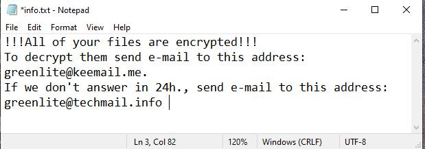 remove Amber ransomware