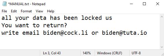 Biden ransomware