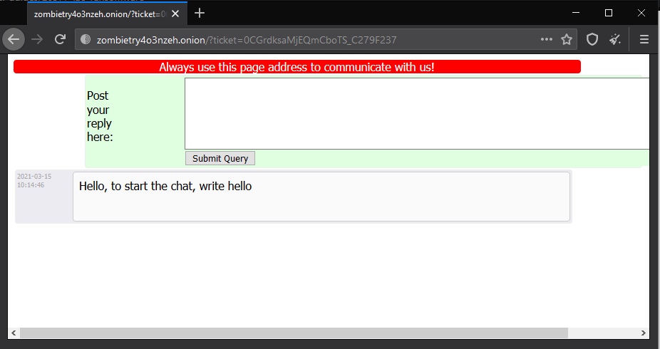 Lao ransomware