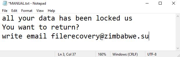 Eofyd ransomware