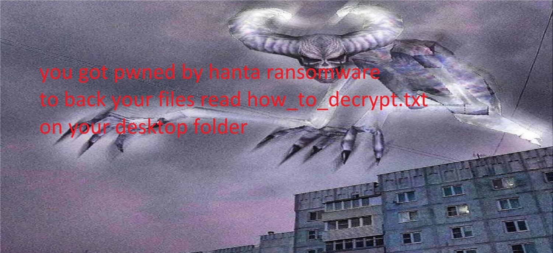 remover HANTA ransomware