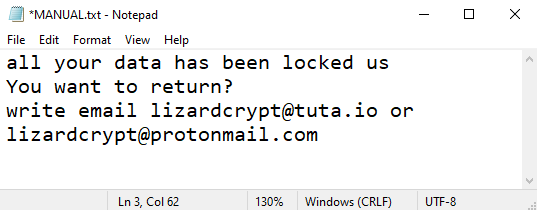 Liz ransomware
