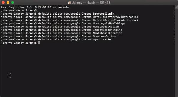 fix Managed by organization Mac