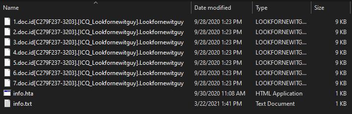 remove Lookfornewitguy virus