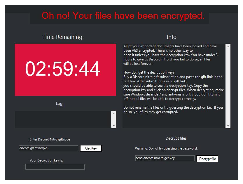 remove Nitro ransomware