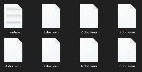 eliminați ransomware-ul Wrui