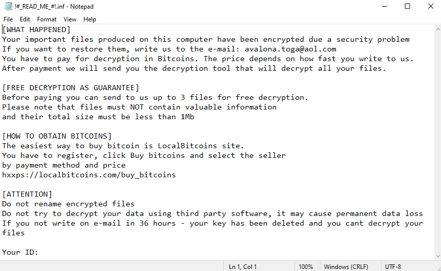 remove Blocking ransomware