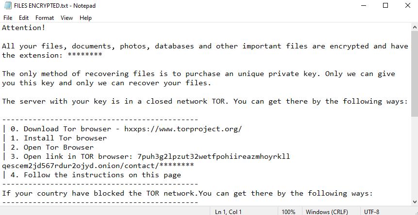 remove Decryptmyfiles.top ransomware