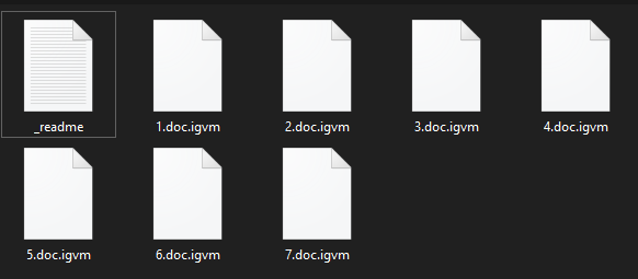 remove Igvm ransomware