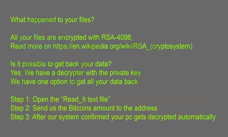 fjerne CryT0Y ransomware