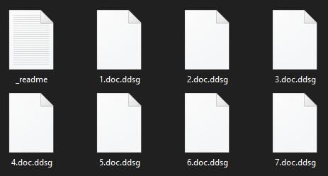 remove Ddsg ransomware