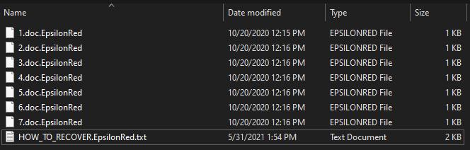 remove EpsilonRed ransomware