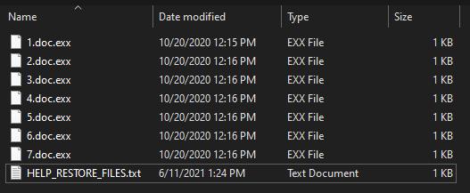 remove Exx virus