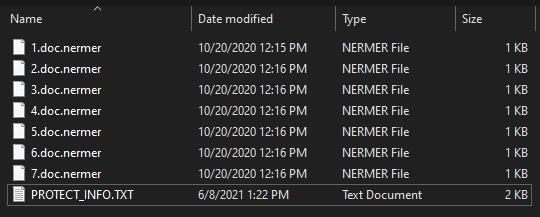 remove Nermer ransomware