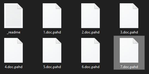 remove Pahd ransomware