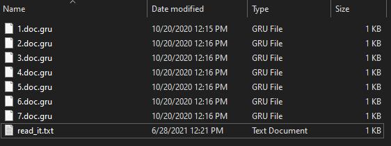 remove Gru virus