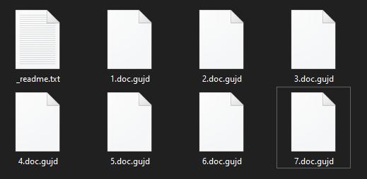 remove Gujd ransomware