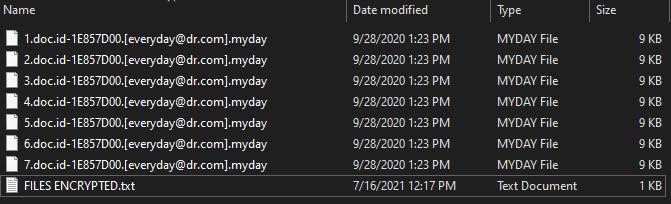 Myday virus