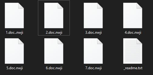 remove Nwji ransomware