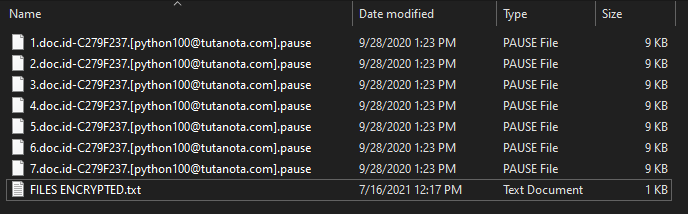 Pause virus