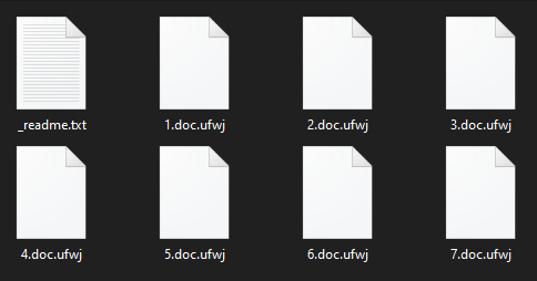remove Ufwj ransomware