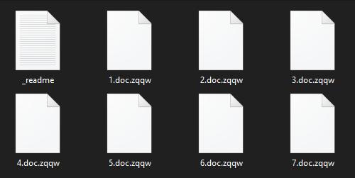 remove Zqqw ransomware