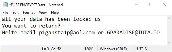 GanP ransomware