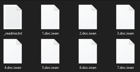 remove Iwan ransomware