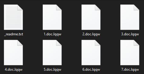 remove Lqqw ransomware