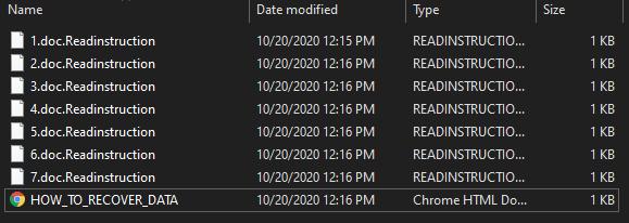 remove ReadInstruction ransomware