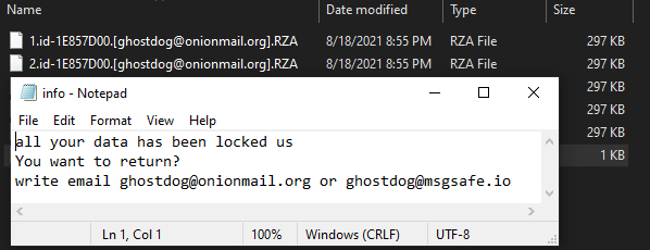 Rza ransomware