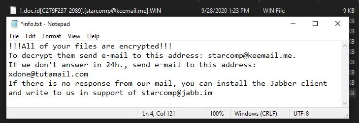 remove Win ransomware